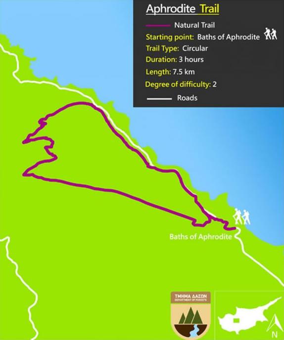 Aphrodite Trail Akamas Visit Polis Tourism