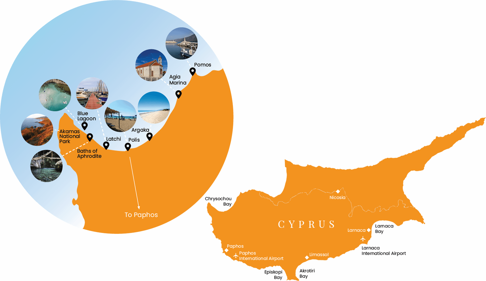 Polis Chrysochous Map | Polis Tourism