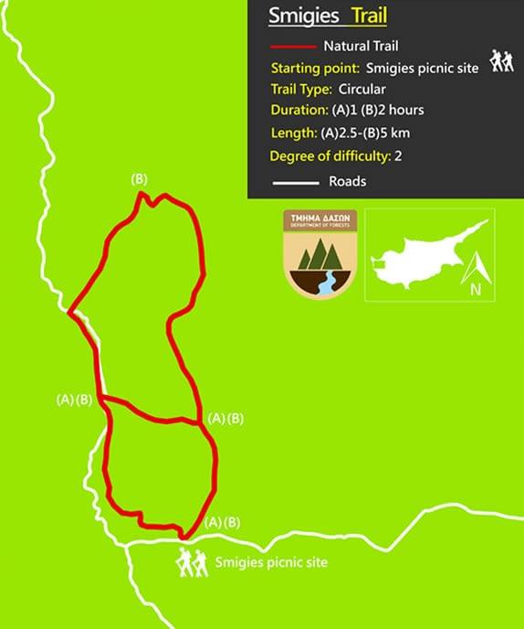Smigies Trail Akamas Visit Polis Tourism